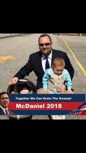 Chris McDaniel former county campaign chairman arrested