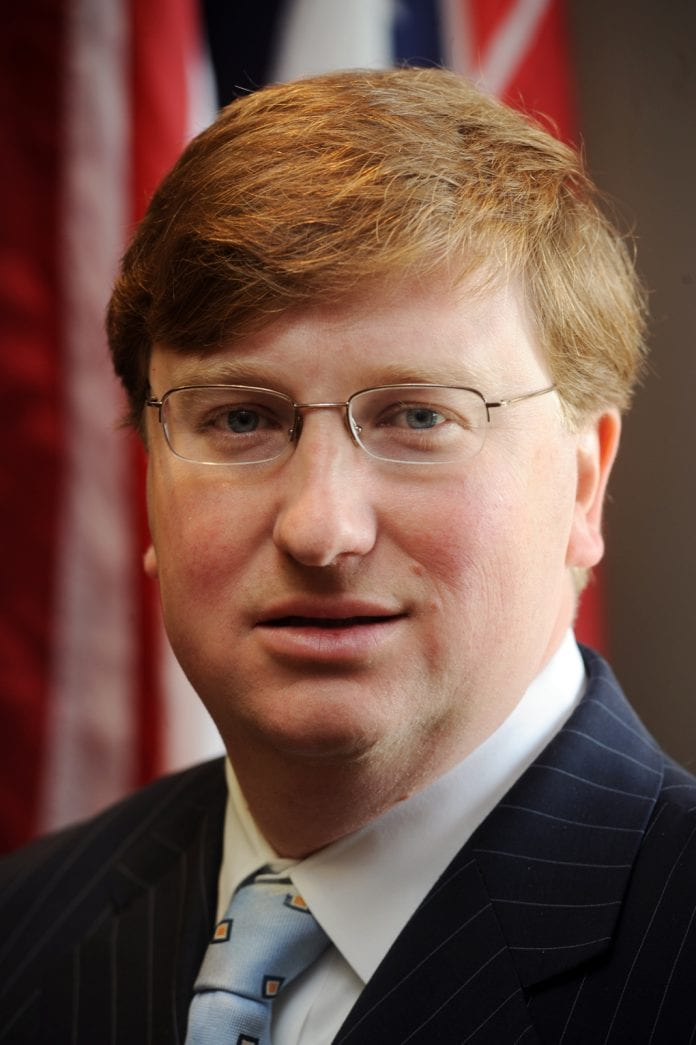 Governor Elect Tate Reeves Releases Schedule For 2020