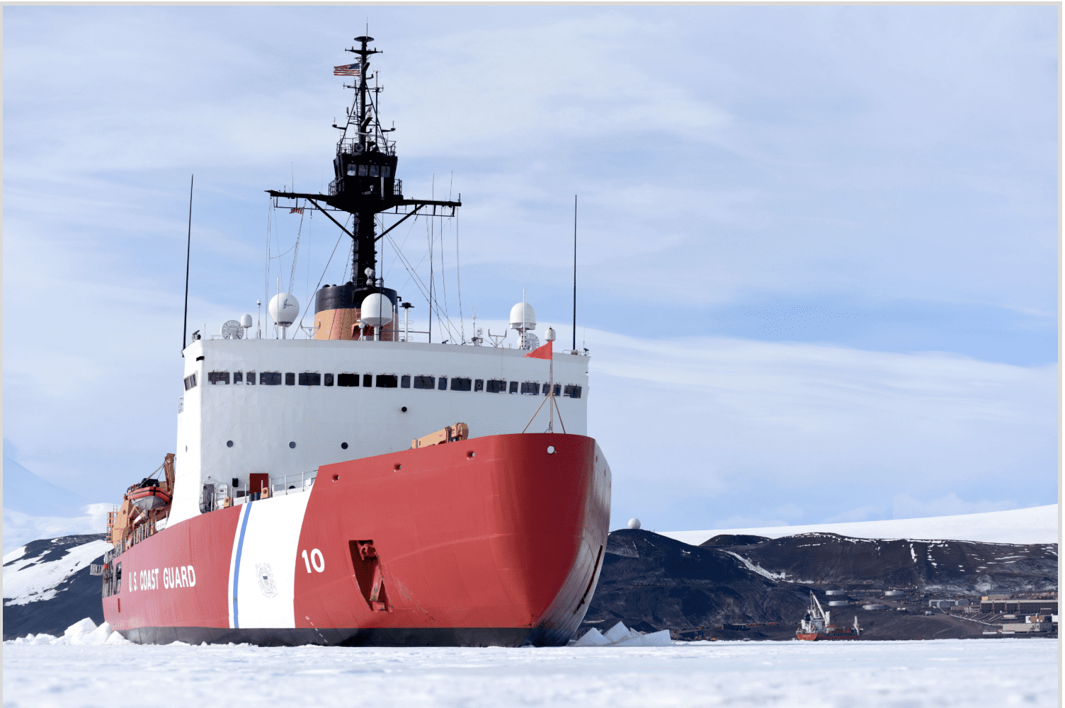 VT Halter Marine To Build New Coast Guard Icebreaker In