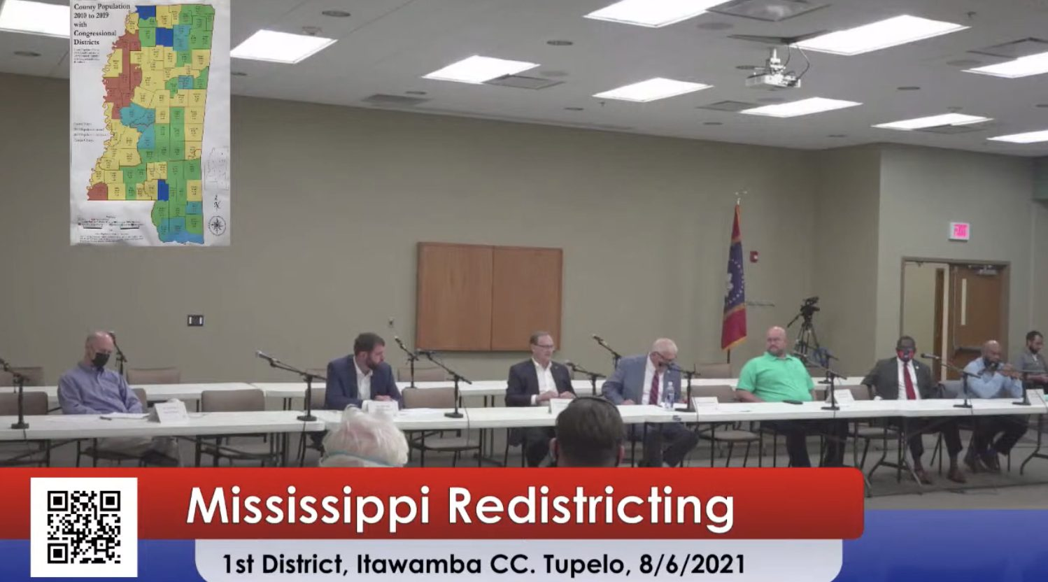 Second Redistricting Hearing on Tupelo Books |  Mississippi News and Politics