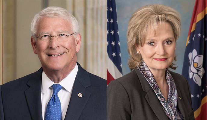 Wicker and Hyde-Smith split over ending debate on infrastructure bill |  Mississippi News and Politics